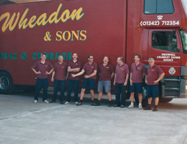 Wheadons removals team